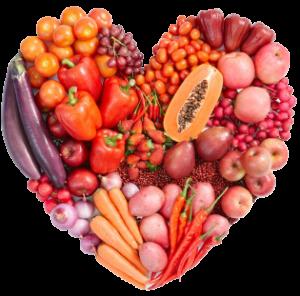 Red Vegetables - Heart